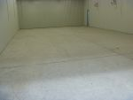Completed industrial floor preparation