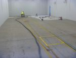 Industrial floor preparation